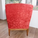 dos fauteuil rouge